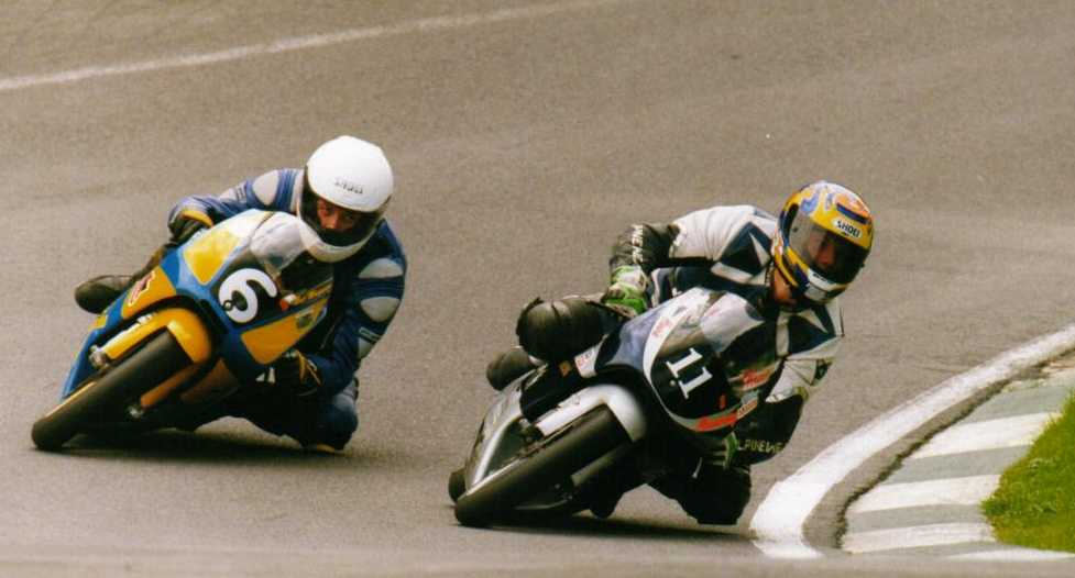 Neil at Cadwell Park 2001