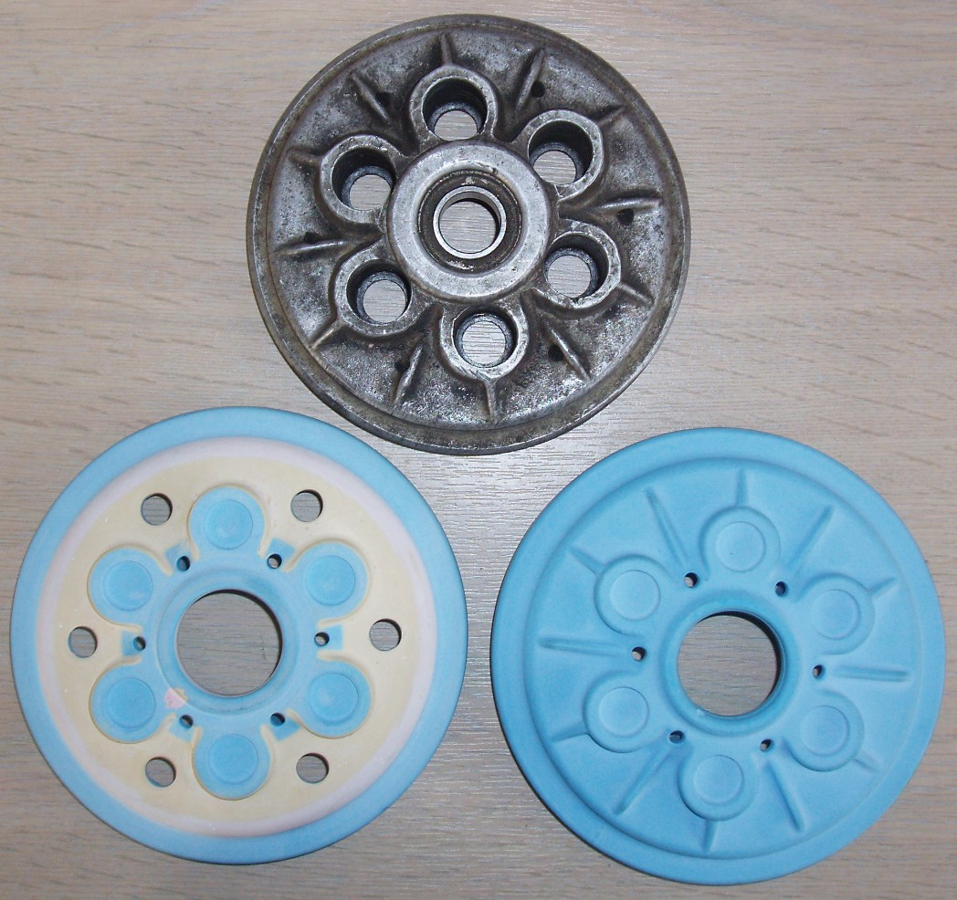 Clutch pressure Plate patterns